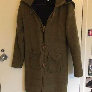 Mustard Winter Coat