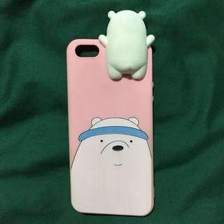 IPHONE 5/5s CASE ICE BEAR