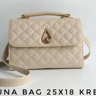 Luna Bag 25x18 Krem