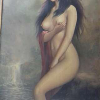 Nude indonesian painting