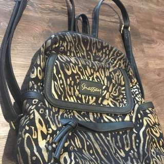Printed small backpack for sale