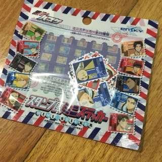 Kuroko no Basket 28pcs mini Anime Sticker