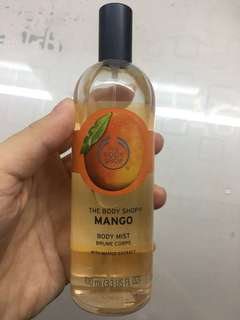 authentic the body shop mango body mist