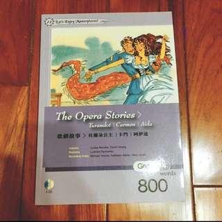 The Opera Stories杜蘭朵公主/英語故事書 #新春八折