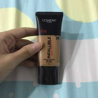 L'Oréal Infallible Pro-matte Foundation 109