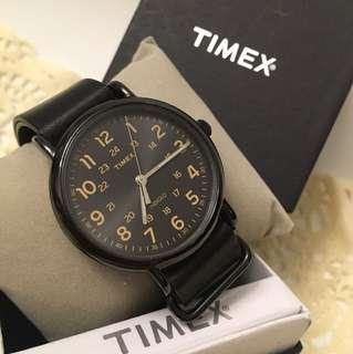 Timex 錶 全黑