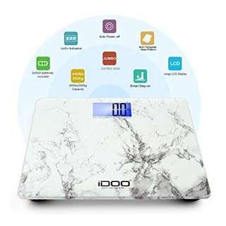 iDOO Precision Digital Bathroom Scale 440lb 200kg