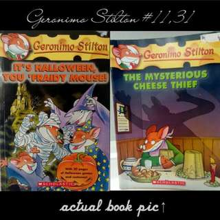 Geronimo Stilton Books #11, #31