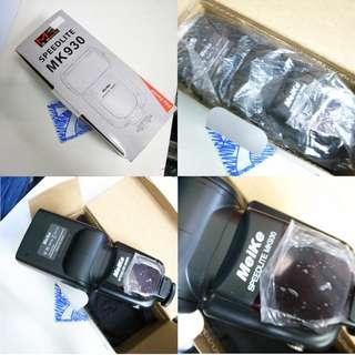 Meike MK 930 Flash Speedlite for Canon DSLR $60
