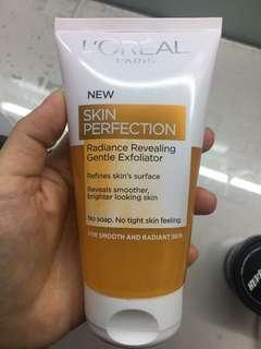 loreal skin perfection radiance revealing gentle exfoliator