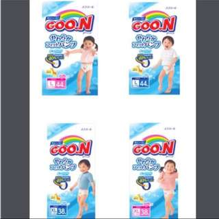 FLASHSALE: GOO.N Pants Diapers