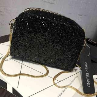 Luxury bag glamour * river island ^tas pesta
