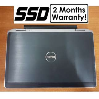 [256GB SSD Core I7 Gen3 Laptop] Dell Latitude E6330: Up to 3.7Ghz! Amazing Clock Speed!