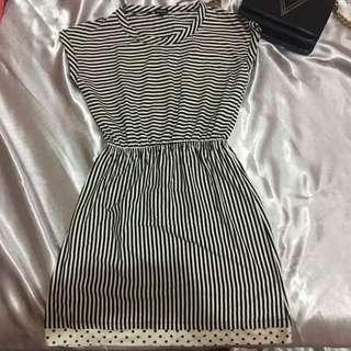 Nevada Strips Mini Dress