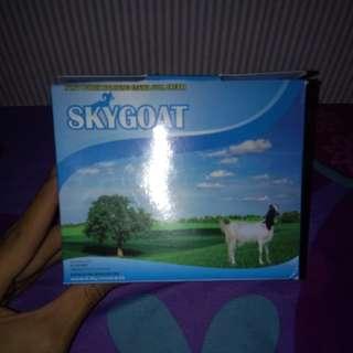 Skygoat susu kambing