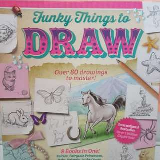 How to draw book for girls