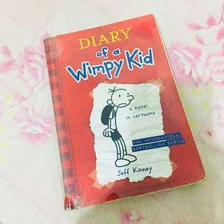 (Preloved)Diary of a wimpy kid