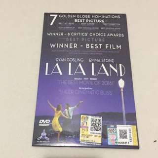 Selling La La Land DVD