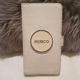 Mimco White Iphone 6S Plus Flip Case