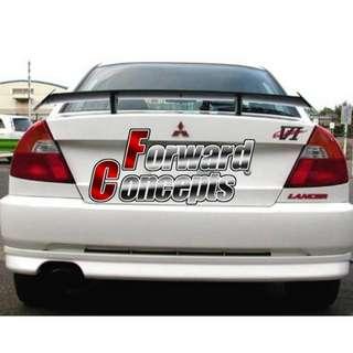 EVO  GT碳纤尾翼