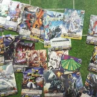 CARDFIGHT VANGUARD CARDS RANDOM