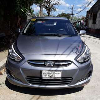 2016 Hyundai Accent 1.4L M/T Gas