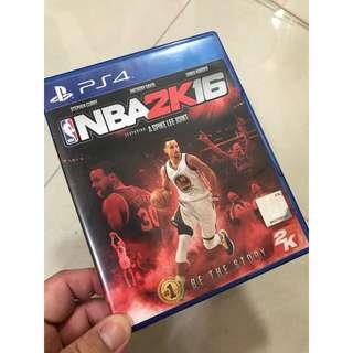 🏀 PS4 NBA 2K16