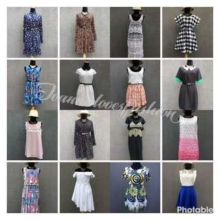 Prepacked dresses for 1000