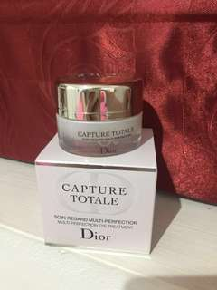 TURUN HARGA PRELOVED SUPER BEST DEAL!! DIOR Capture Totale Multi Perfection Eye Treatment