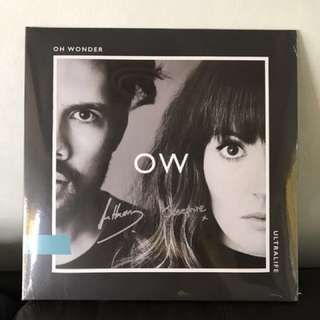 Signed OW Ultralife Vinyl With OW Merchandise FREEBIE
