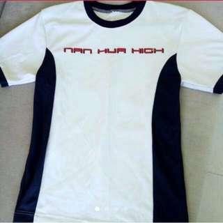 Nan hua PE shirt and short