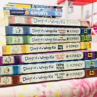 (Pre-loved) Diary of a Wimpy Kid 1-7