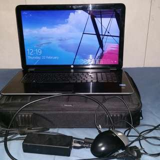 Hp 17  i5 6gb ram intel hd 4000,Radeon 8670M