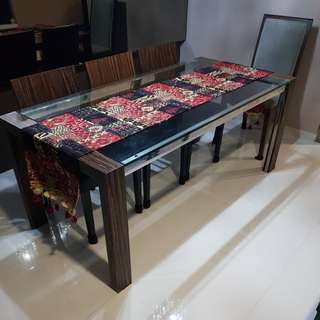 Selling used dining table only