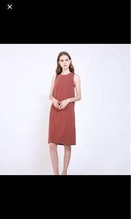 RWB Kyler Dress Terecotta M