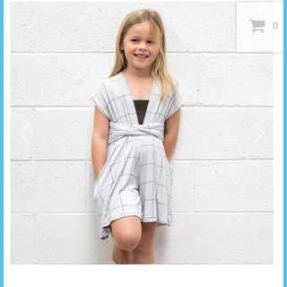 Girls playsuit size 2