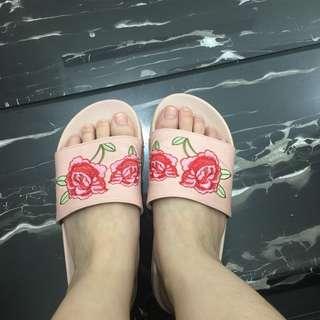 PRELOVED Rubi Shoes Sandal Flowery Pink size 37