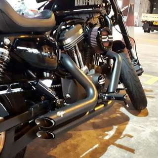 Harley Vance & Hines exhaust for 2017 sportster xl1200cx roadster