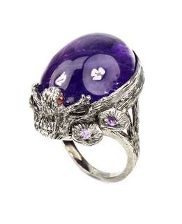 CHUNKY Amethyst ring