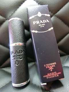 Refillable Spray of L'homme Prada EDT 8ml