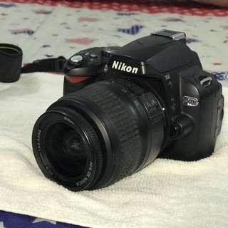 Nikon D40x + 18-55mm lens set ALL IN