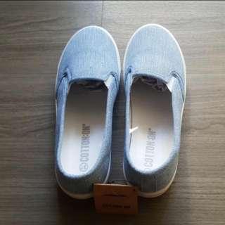 Hana Slip On Casual Cotton Shoe - Size 37