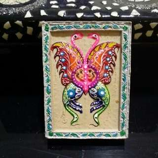 Kruba Krissana Block A Butterfly Amulet