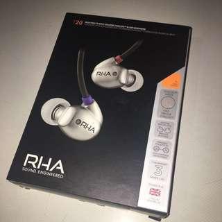 RHA T20 配件連盒