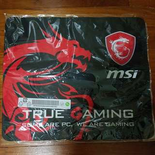 MSI Mousepad