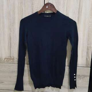Zara Formal Knit with side buttons