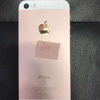 iPhone se 64gb pink