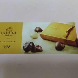 Godiva $50