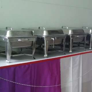 Rental Chair @ Table @ Buffet Tray @ Water Dispensers
