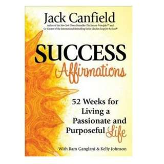 eBook - success Affirmations by Jack Canfield